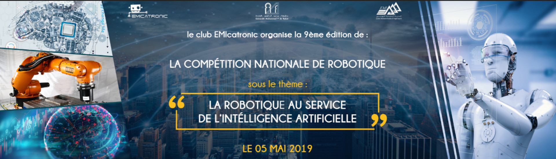 La compétition nationale de robotique